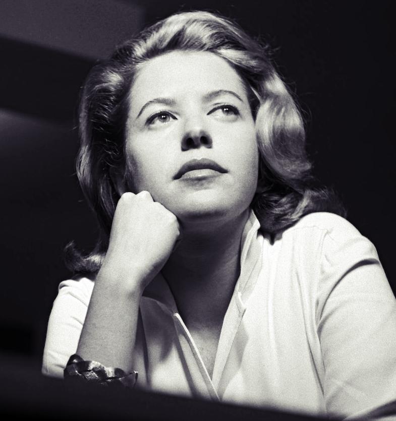 Hilda Hilst - por Fernando Lemos, 1954
