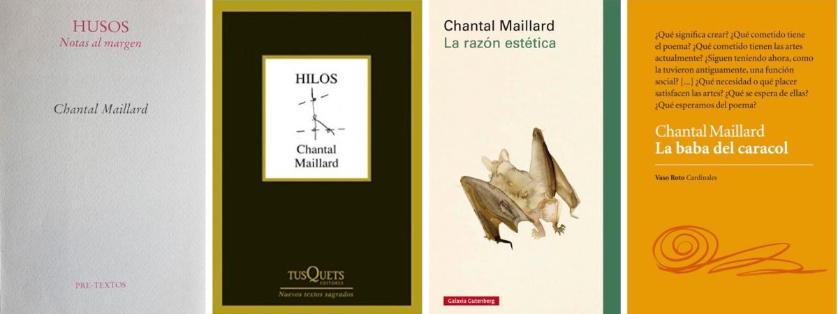 ENTRE HILOS Y HUSOS: Tres días con Chantal Maillard (parte 2)