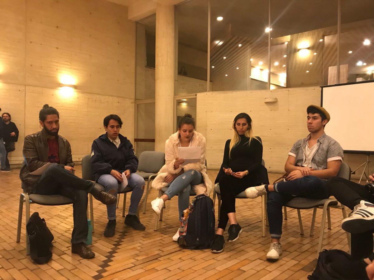 Escrituras Abiertas · Bogotá · Diciembre 2017