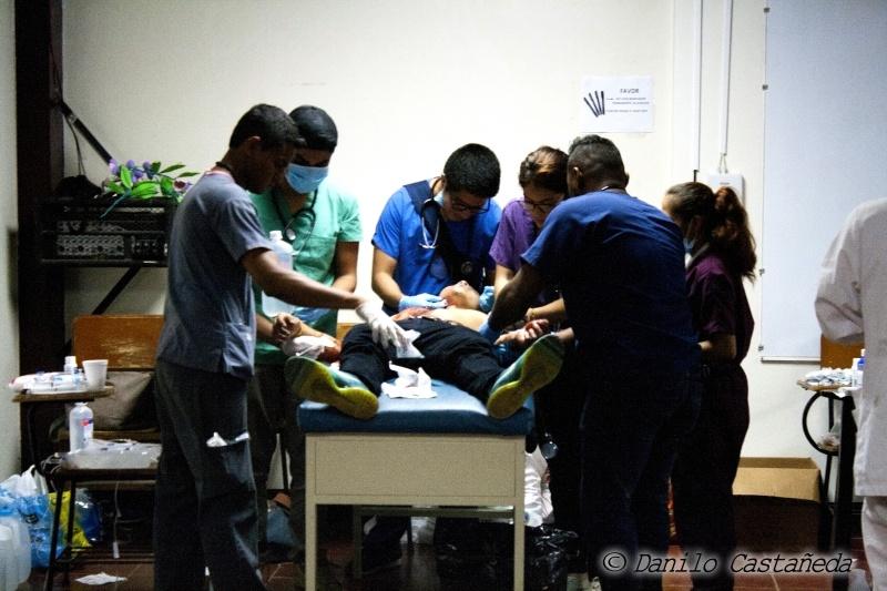 UNAN_medicosestudiantes_protestasdeNicaragua2018