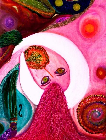 Óleo sobre lienzo de Liliana Moreno Muñoz