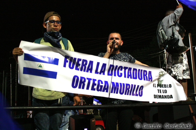 revolucion19deabril_movimientoautoconvocadonicaragua_solangesaballos_danilocastaneda_liberoamerica_dictaduraortegamurillo_fueraortegamurillo