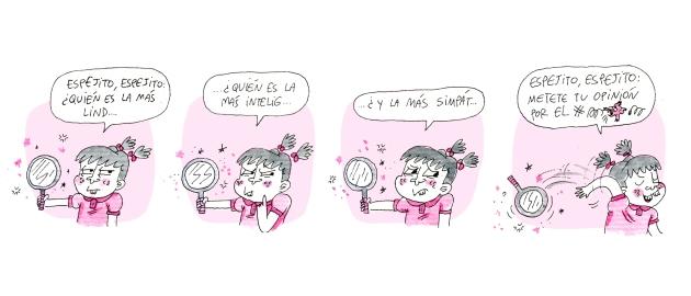 new bichas espejito 2 chica