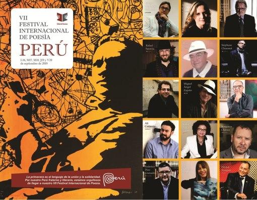 Poetas homenajeados de la VII Edición